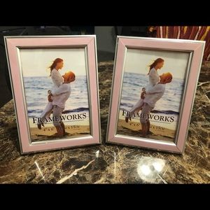 Pretty Pink Picture Frames